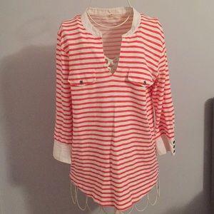 Jcrew striped shirt